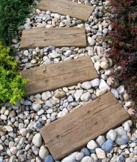 10 Unique DIY Garden Path Designs | Home Design And Interior