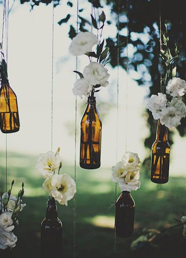 Beer Bottle Wedding Decorations