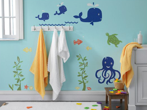 child friendly bathroom 10 Kid-Friendly Ways To Bathroom Ideas   Home Design And