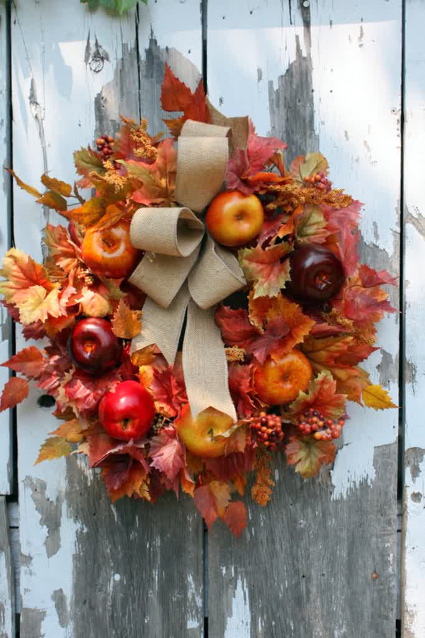 10 Cute DIY Apple Decorations For Autumn  Home Design And Interior
