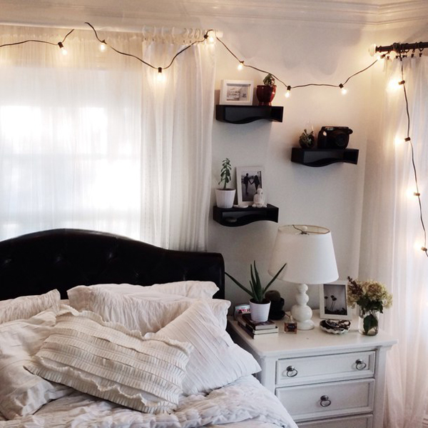 Cute Room Lighting For Youthful Girls