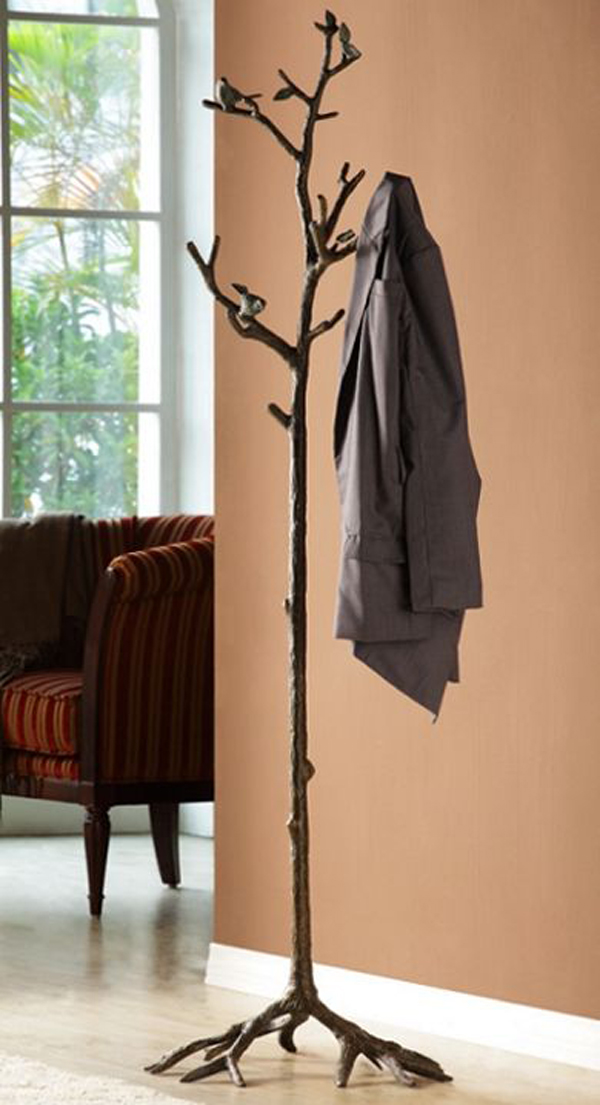 15 Cool DIY Branch Coat Racks