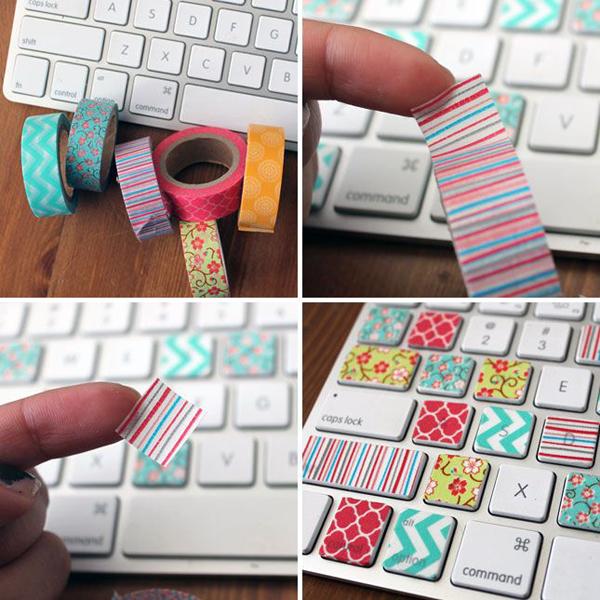 Simple Computer Keyboard Wallpaper