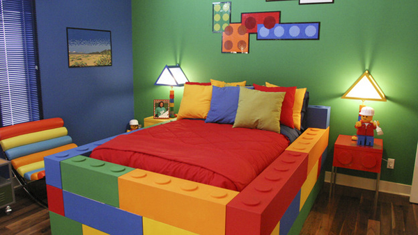 10 Best Kids Bedroom With Lego Themes Home Design And