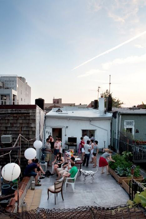 Diy Rooftop Dinner Party Ideas