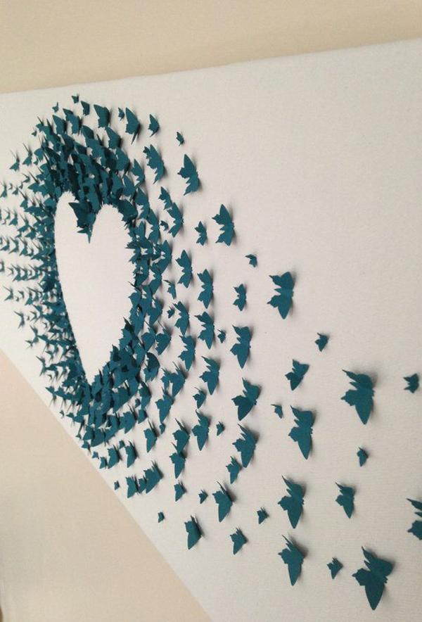 butterflypaperartwalldecoration