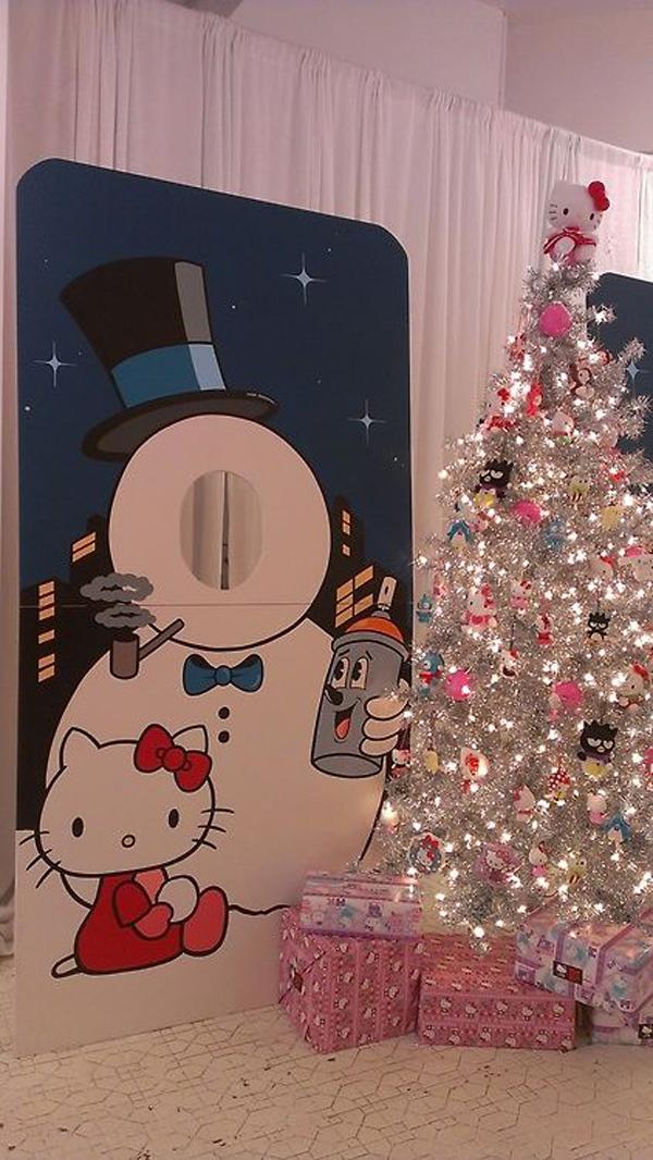 20 Pretty Christmas Decor With Hello Kitty Theme Home