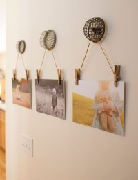 22 Beautiful Ways To Display Family Photos On Your Walls ...