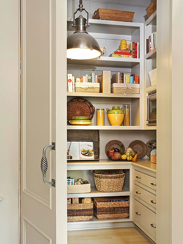 hiddenandelegantkitchenpantrystorage