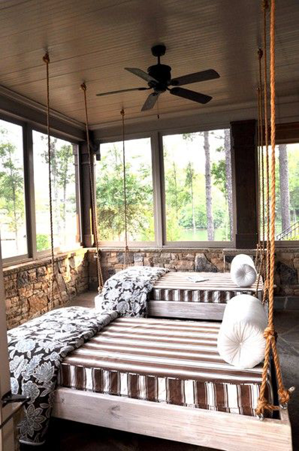 10 Most Relaxing Sleeping Porch Ideas