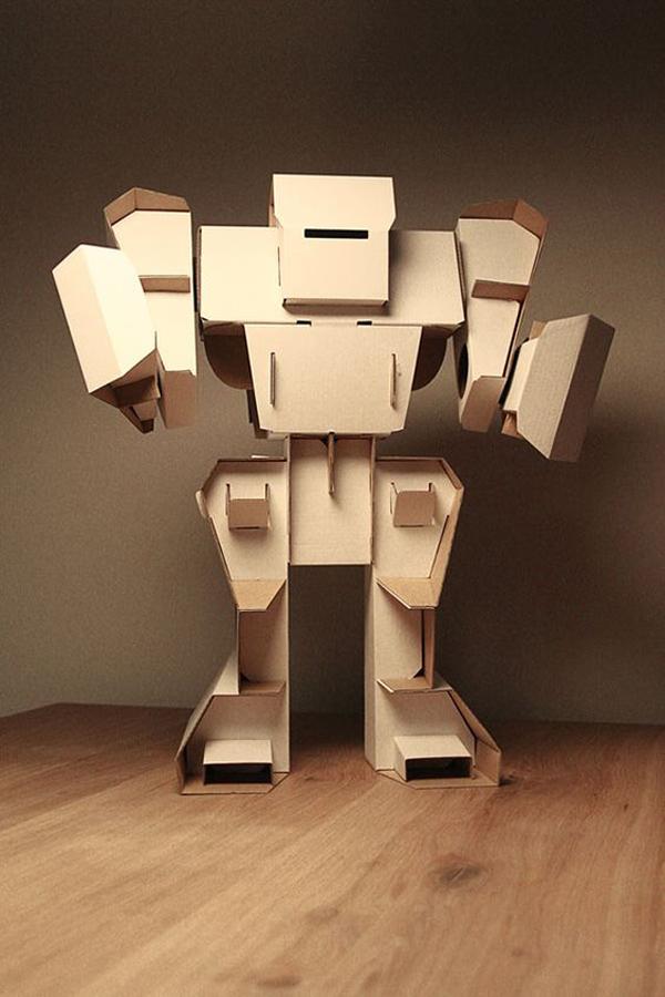 Diy Cardboard Robot Toys