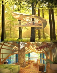20 Awesome Treehouse With Childhood Dreams | Home Design ...