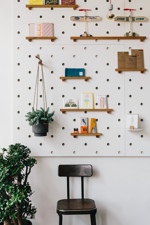 20 Functional Pegboard Ideas To Organize Your Room  Home