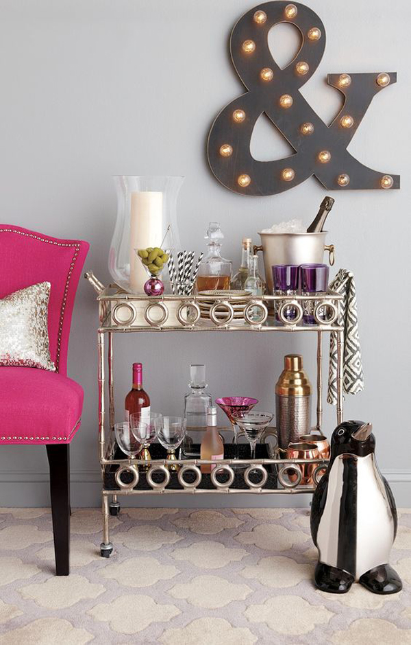 20 Styling Bar Carts For Every Home  Home Design And Interior