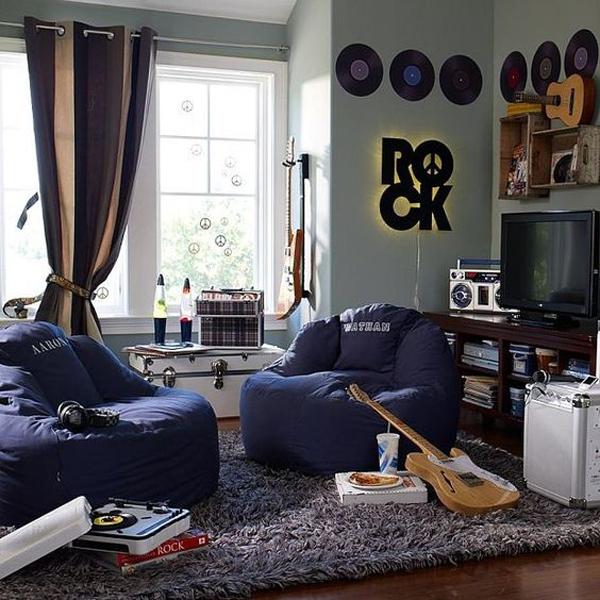 10 Super Cool Music Bedroom For Teenage Boys Home Design