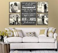 wedding-photo-display-in-wall-decor