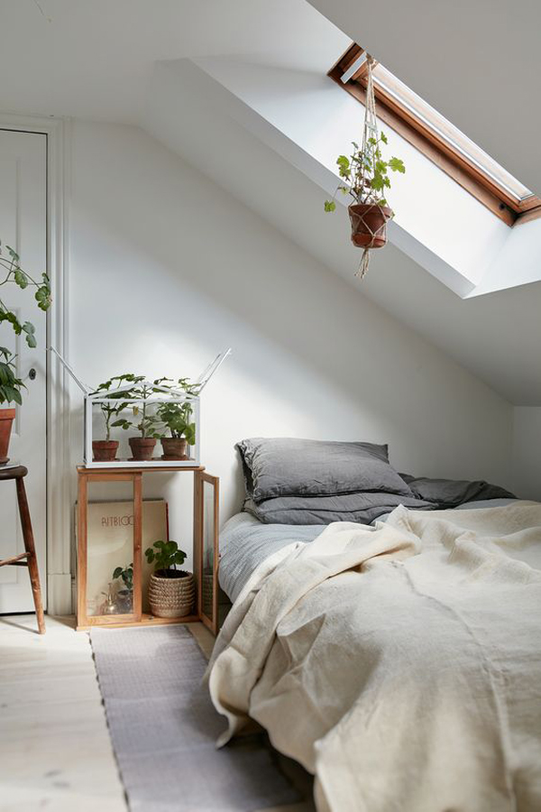 10 Beautiful Loft Bedrooms With Natural Accents  Home Design And Interior