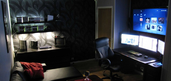Stephanie crawford whether it's space invaders on the atari 2600 or halo on the xbox 360, no video game has been. 25 Incredible Video Gaming Room Designs   Home Design And ...