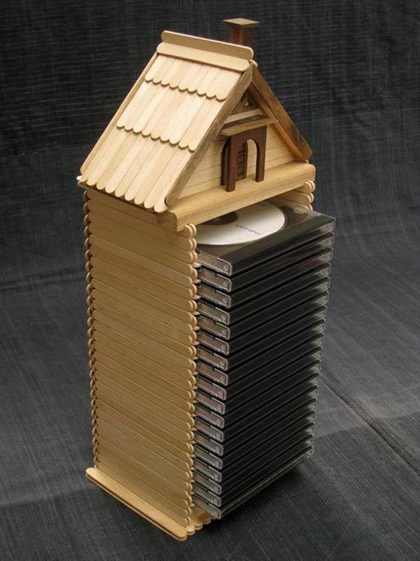 25 Pretty DIY Popsicle Stick For Home Decor  Home Design