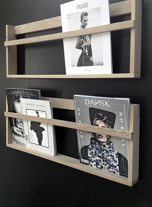 15 Genius DIY Magazine Rack Ideas  Home Design And Interior