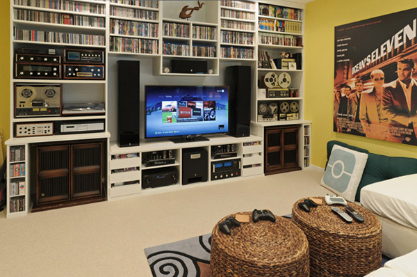 Do you have an idea for a video game? 25 Incredible Video Gaming Room Designs | HomeMydesign