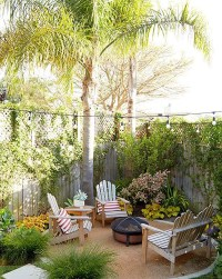20 Lovely Backyard Ideas With Narrow Space
