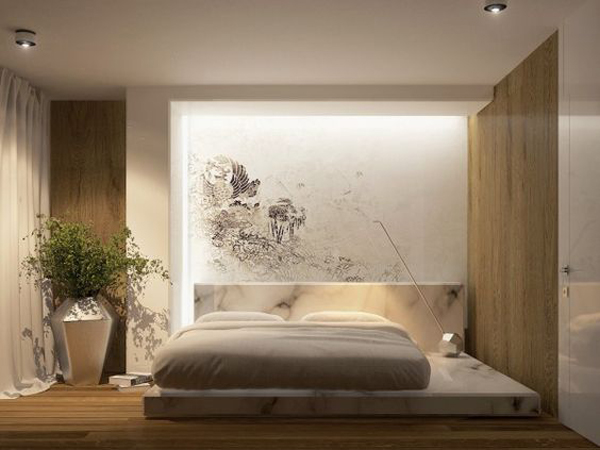 Your bedroom shouldn't just be a place to lay your head — it's the most personal space in your entire home. simple-and-modern-bedroom-lights-with-japanese-style