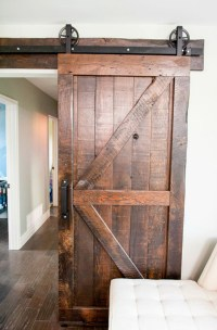 20 Awesome Sliding Doors With Rustic Accent