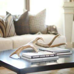 Diy Living Room Table Decor How To Design A Small 20 Cool And Trendy Antler Decorations | Home ...