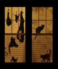 25 Scary DIY Halloween Window Silhouettes | Home Design ...