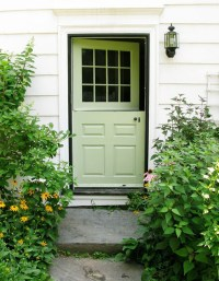 apple-green-front-door-design