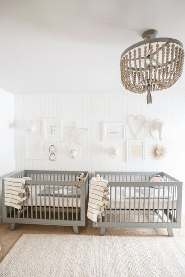 35 Cute Twin Nursery With Warm Colors  Home Design And