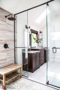 Modern Bathroom With Rustic Elements | Home Design And ...