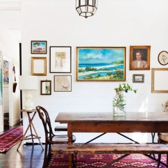 Bohemian Living Room Wall Ideas Ethan Allen Rooms Modern Dining Art Home Design And Interior