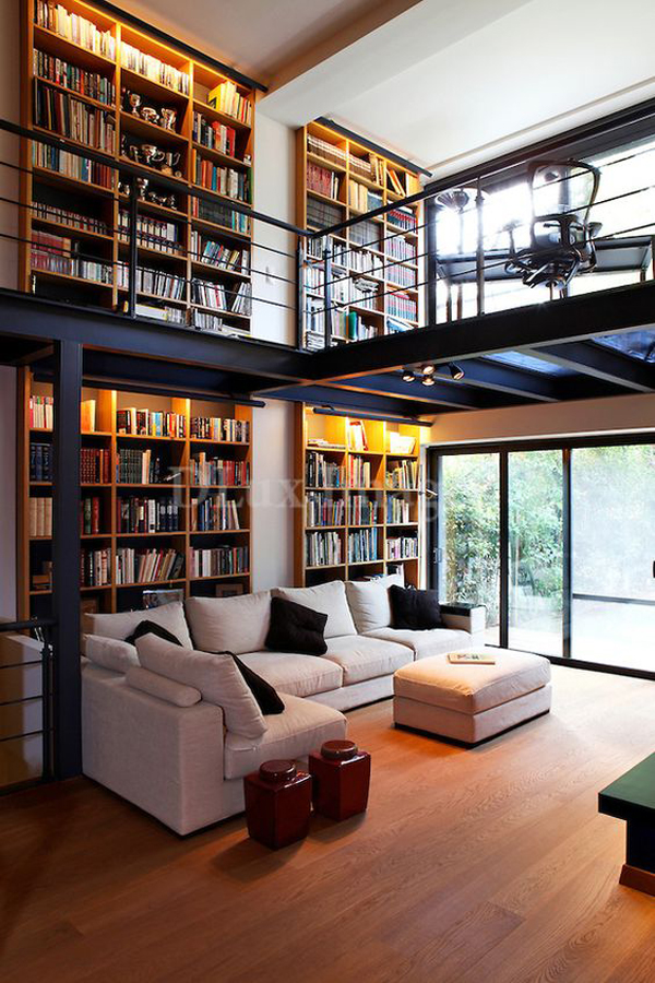 25 Modern Home Library Design For Casual Look  Home