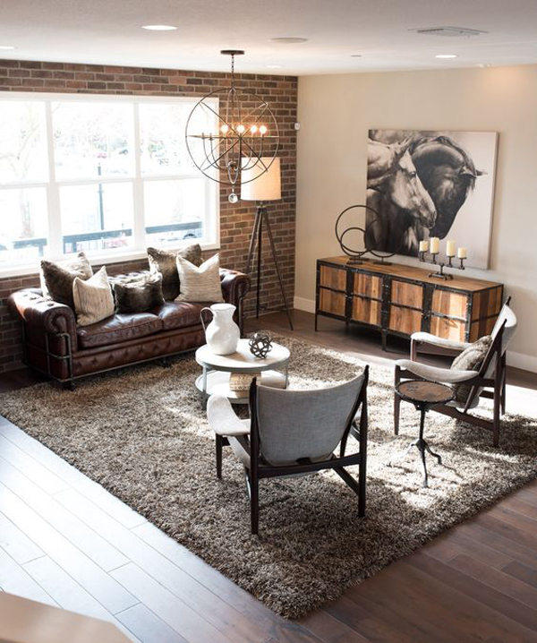 22 Modern Living Room Ideas With Industrial Style  Home