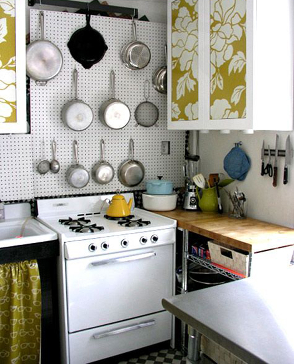 kitchen pegboard f over with mural decor home design and interior