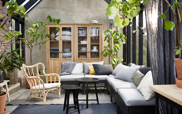 outdoor living room ideas conns sets roomshome design and interior home 15 cozy indoor