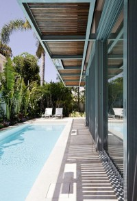 25 Outdoor Narrow Pools For Limited Spaces | Home Design ...