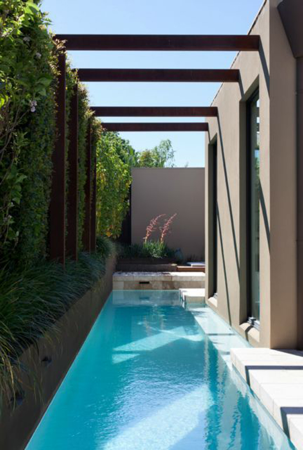 25 Outdoor Narrow Pools For Limited Spaces Home Design