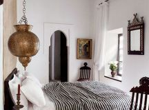 20 Ethnic Moroccan Bedroom With Modern Patterns | Home ...