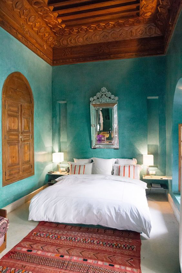 20 Ethnic Moroccan Bedroom With Modern Patterns  Home Design And Interior