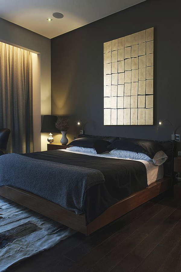 Nicole franzen having a small space may burden you with more storage issues than your nei. 20 Masculine Bedroom Ideas To Bring Your Style | HomeMydesign