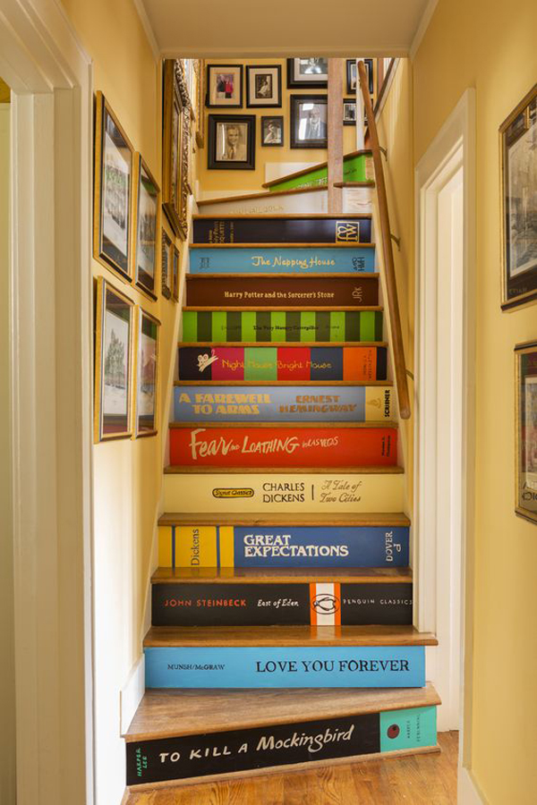 10 DIY Unique Stairs Made From Unusual Ideas  Home Design