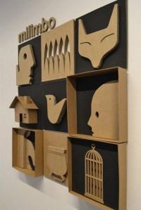cardboard-art-wall-decor