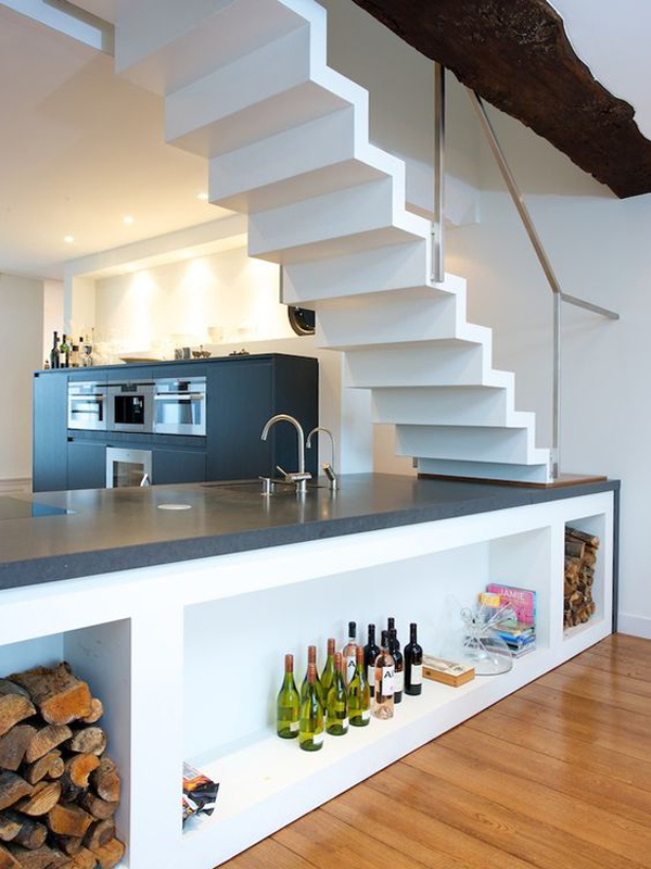 15 Unexpected Things Kitchen In Under The Stairs Youll