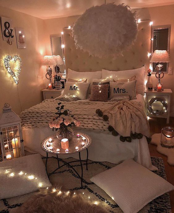 15 Inspiring Romantic Room Decor For Surprise Your Lovers