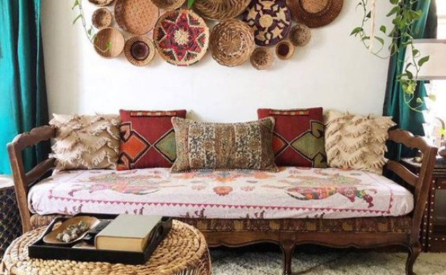 20 Artistic And Beautiful Boho Wall Art Ideas Homemydesign