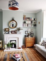 unused fireplace ideas with vases in living room ...