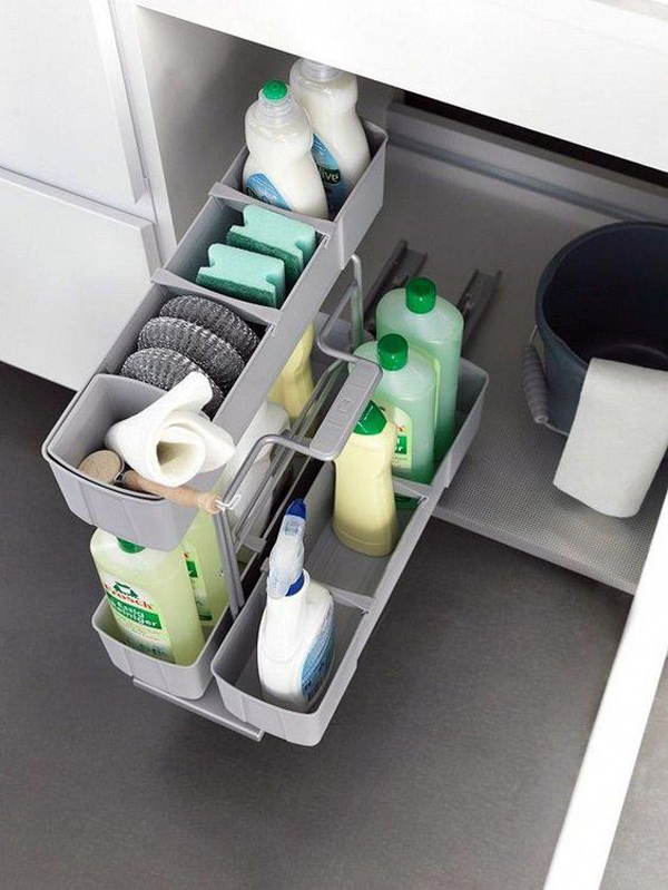 25 brilliant under sink storage ideas